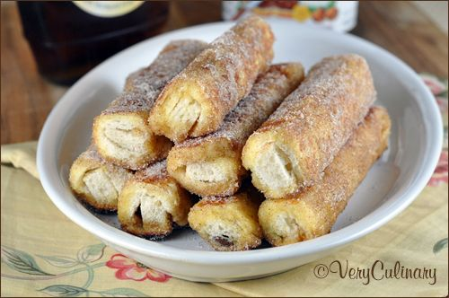 (Filled) French Toast Roll Ups | Very Culinary