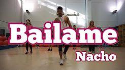 bailame zumba nacho - YouTube