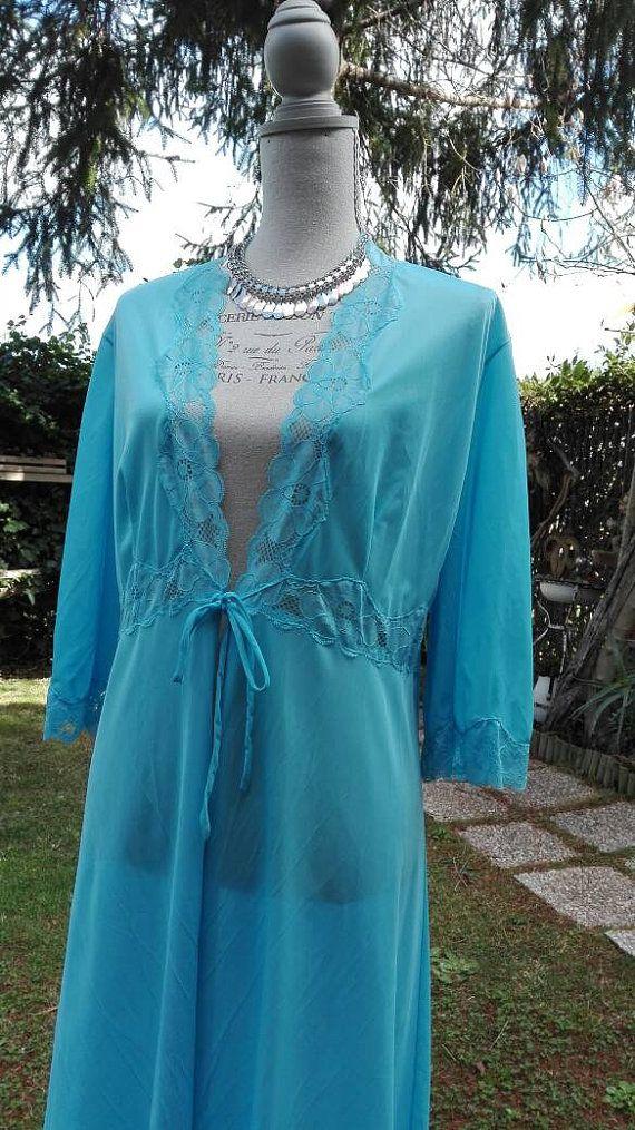 Guarda questo articolo nel mio negozio Etsy https://www.etsy.com/it/listing/269407907/dressing-gown-vestaglia-shabby-chic