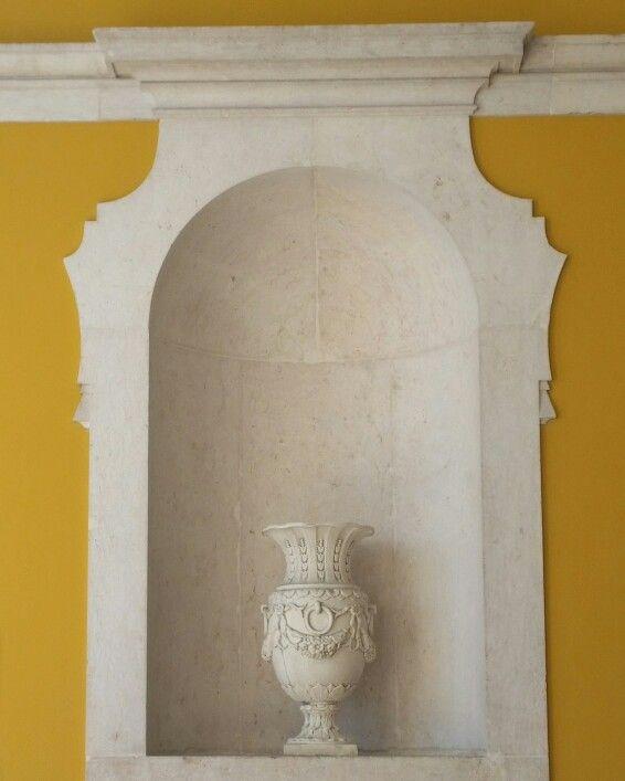 The Urn... #Architecture #Arquitectura #Design #Décor #Decorative #Yellow #Amarelo #Aesthetics #Lisbon #Lisboa #Portugal