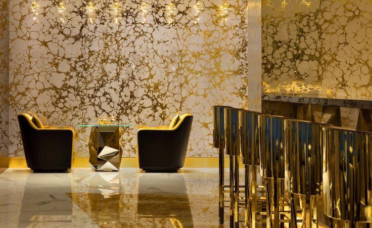 20 Must-Have Upholstered Bar Chairs That Make A Statement   Decorating Ideas   Interior Design   Modern Design   Upholstered Bar Chairs   #interiordesignprojects #homedecorideas   #modernbarchairs   more @ https://www.brabbu.com/en/inspiration-and-ideas/interior-design/must-have-upholstered-bar-chairs-make-statement