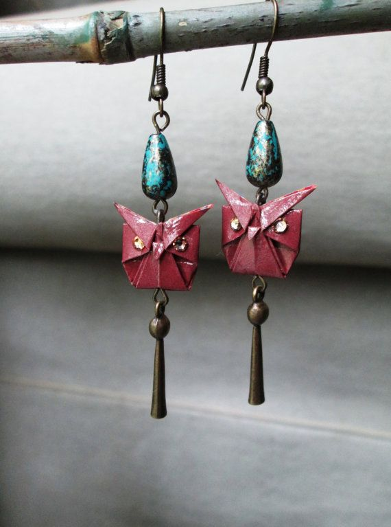 Hey, I found this really awesome Etsy listing at https://www.etsy.com/listing/151636773/origami-owl-earrings-accented-with