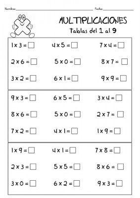 TRABAJAMOS LAS TABLAS DE MULTIPLICAR 13
