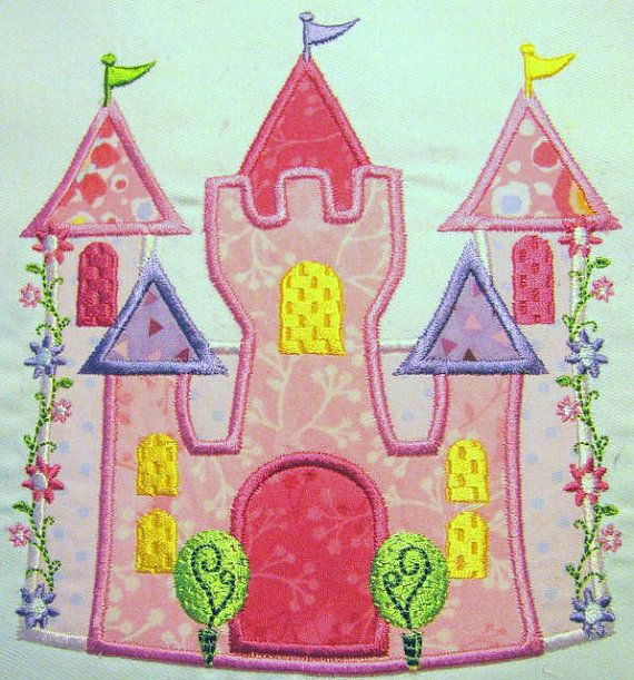 Hey, I found this really awesome Etsy listing at http://www.etsy.com/listing/129925593/princess-castle-machine-applique