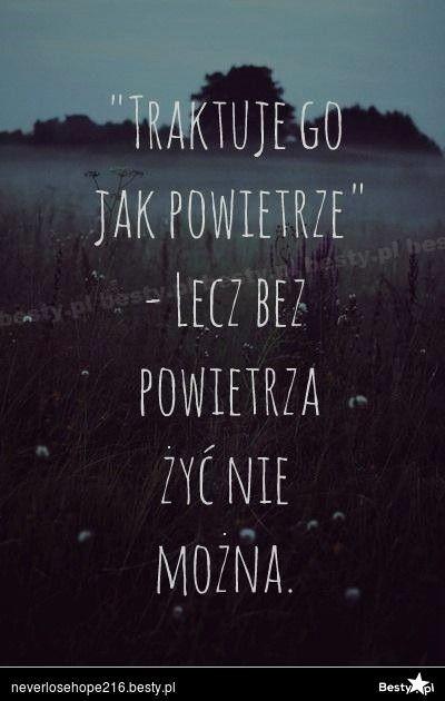 BESTY.pl - Traktuję go jak powietrze