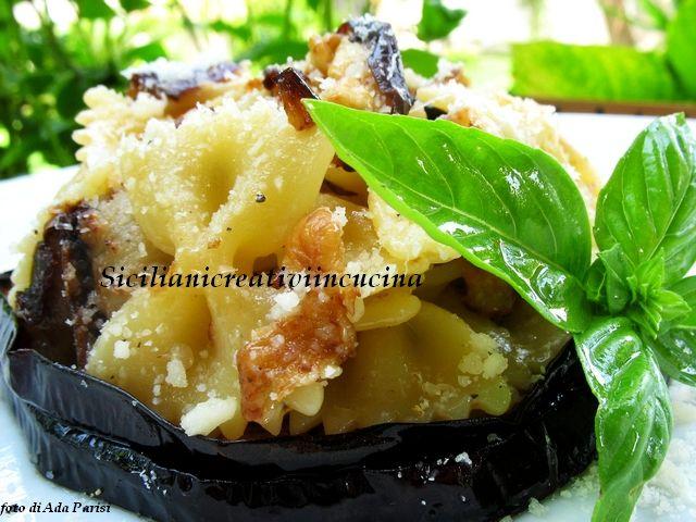 Pasta con le melanzane in bianco | SICILIANI CREATIVI IN CUCINA |