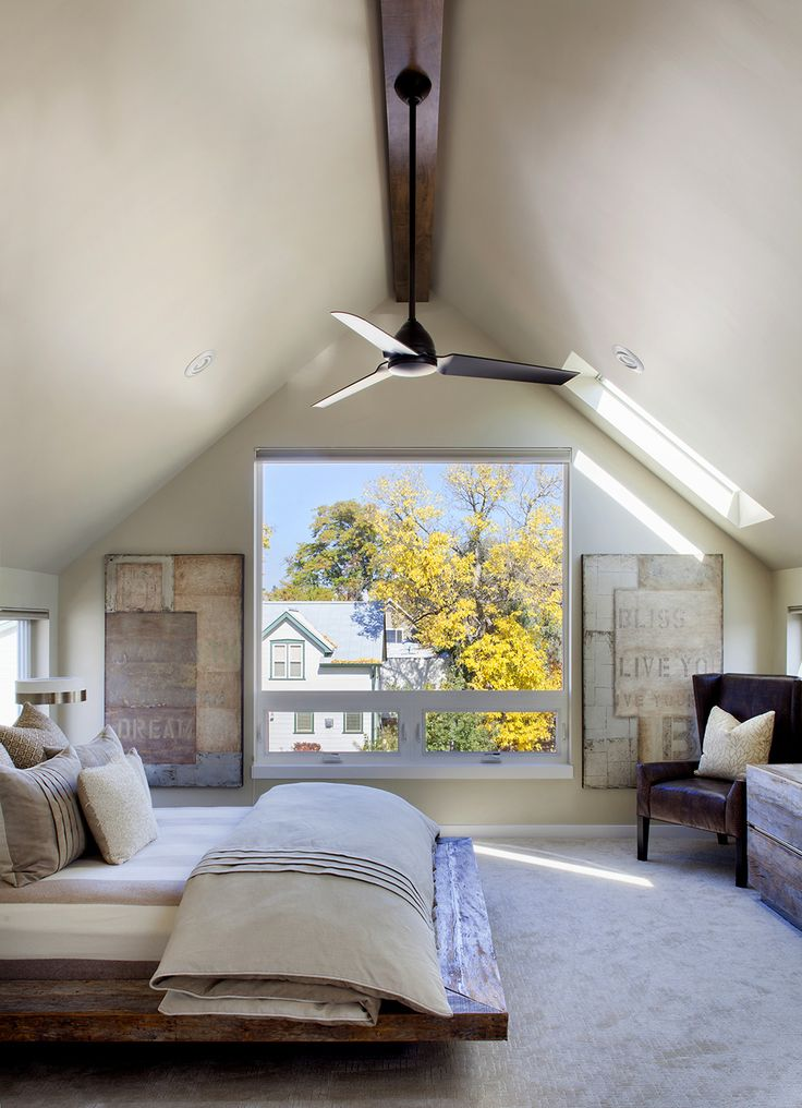 Beautiful bedroom: project Street House 6 Contemporary Three Level Home Showcasing Creative Design Features in Denver