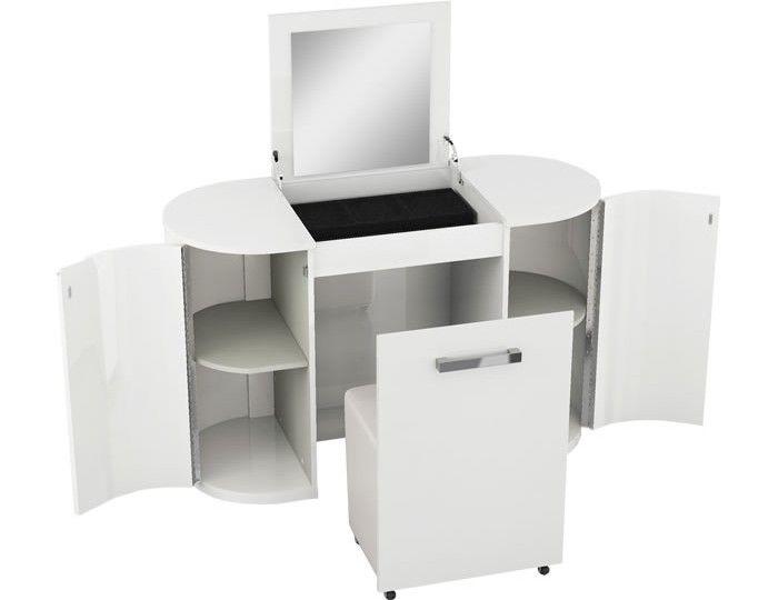 Pryce White Gloss Dressing Table