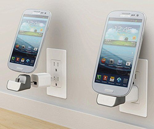 Mini Wall Plug-In Charging Dock - these are totally cool and needed!