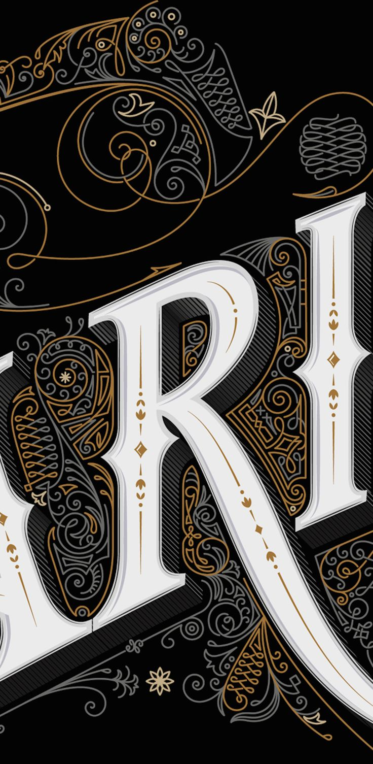 Detailed Sign Inspired by 19th Century Typography – Fubiz Media