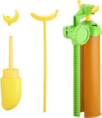カッター(左上)、ホイップボトル(左下)、くりぬき棒(中央)、本体(右)