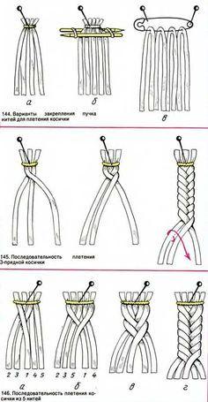 Плетеные косички