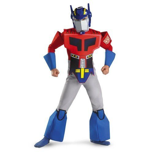 Transformers Optimus Prime Costume Fancy Dress Costumes Jokers Party http://jokersparty.com/transformers-optimus-prime-costume/