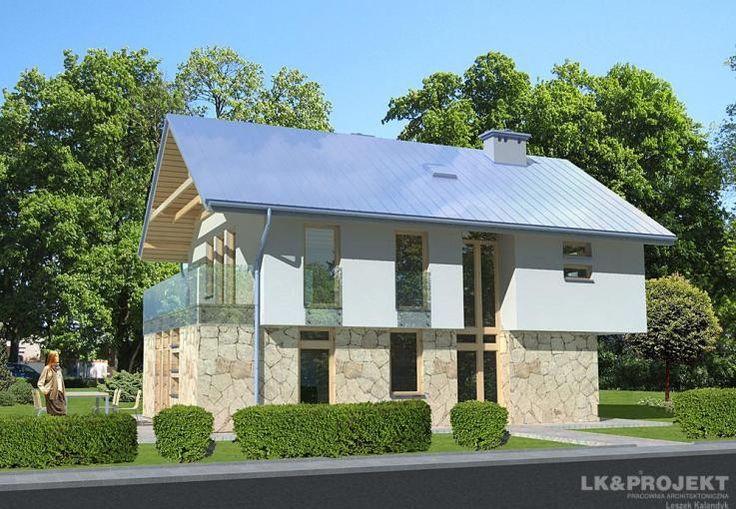 Projekt domu LK&704. Untypical modern house plan.  #projekt #domu #dom #projektdomu #projektydomow #projektydomów #budowa #buduje #buduję #budujedom #budujędom #house #houseplan #plan #architecture #modernhouse #modern #project #houseproject #nowoczesnydom #domnowoczesny #nowoczesny