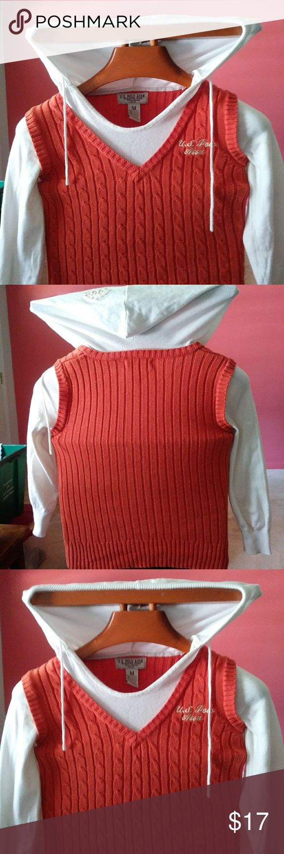Polo szMed hoodie $17 $17 plus free gift Polo szMed hoodie $17 $17 plus free gift any item in this closet priced $15 or less u.s. polo Association Tops Sweatshirts & Hoodies