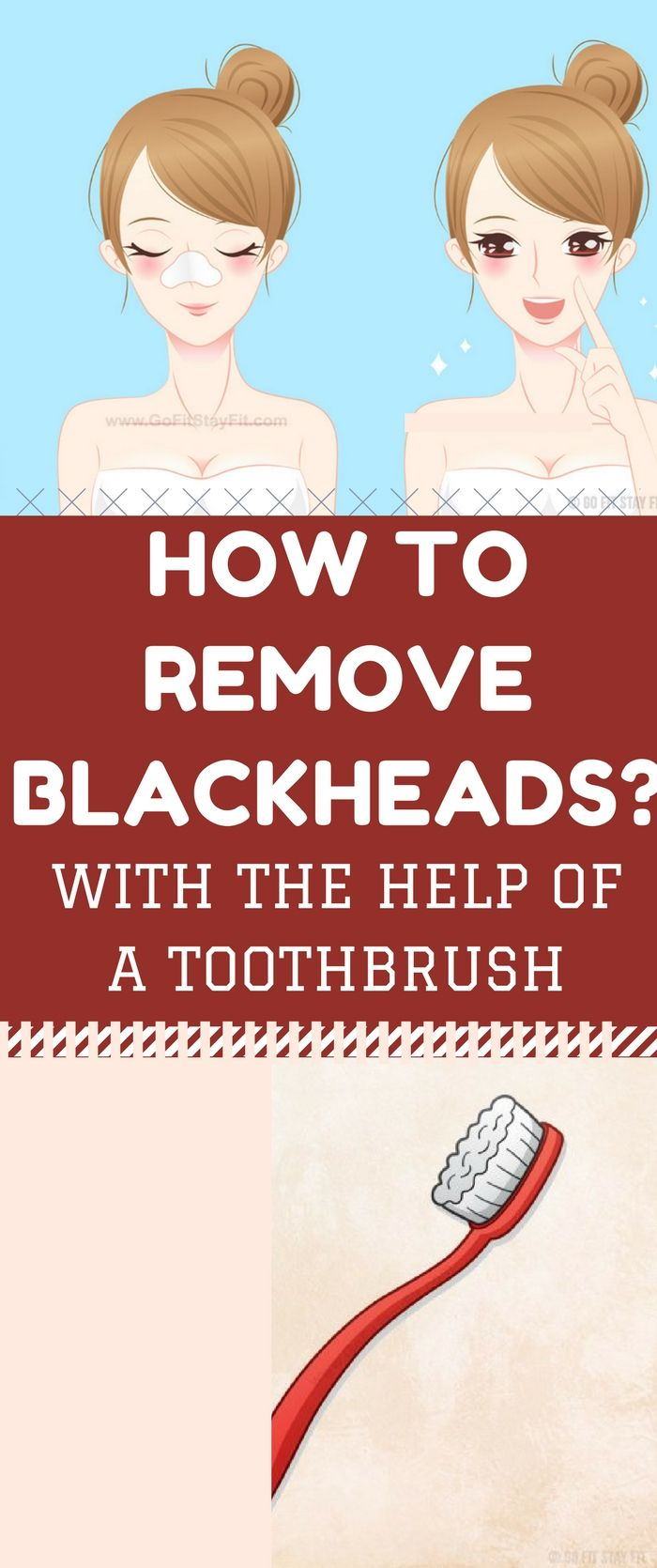 How to Remove Blackheads with the Help of a Toothbrush..!!!!!
