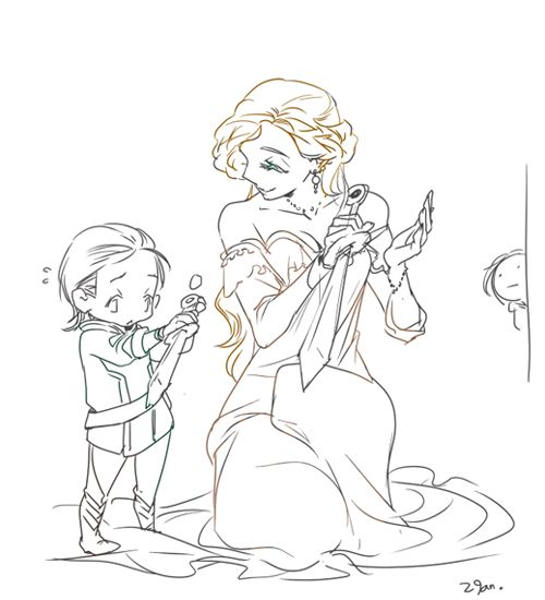 """""""Like this, mama?""""  *Sigh*  oh Frigga.  I cried when I saw that...that, uh...well, people who watched Thor 2 will understand why I cried."""