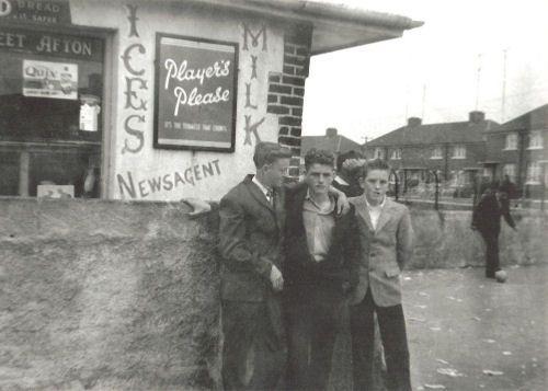 ... Riordans Shop Le Fanu Road Ballyfermot 1960S |