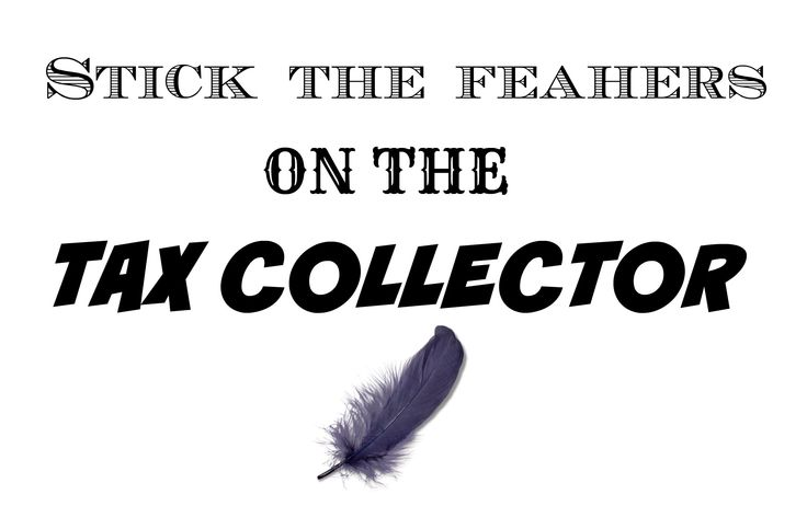 Nobody likes the tax collector. That is why we came up with a game where we stick feathers on the tax collector. Check it out on our website!