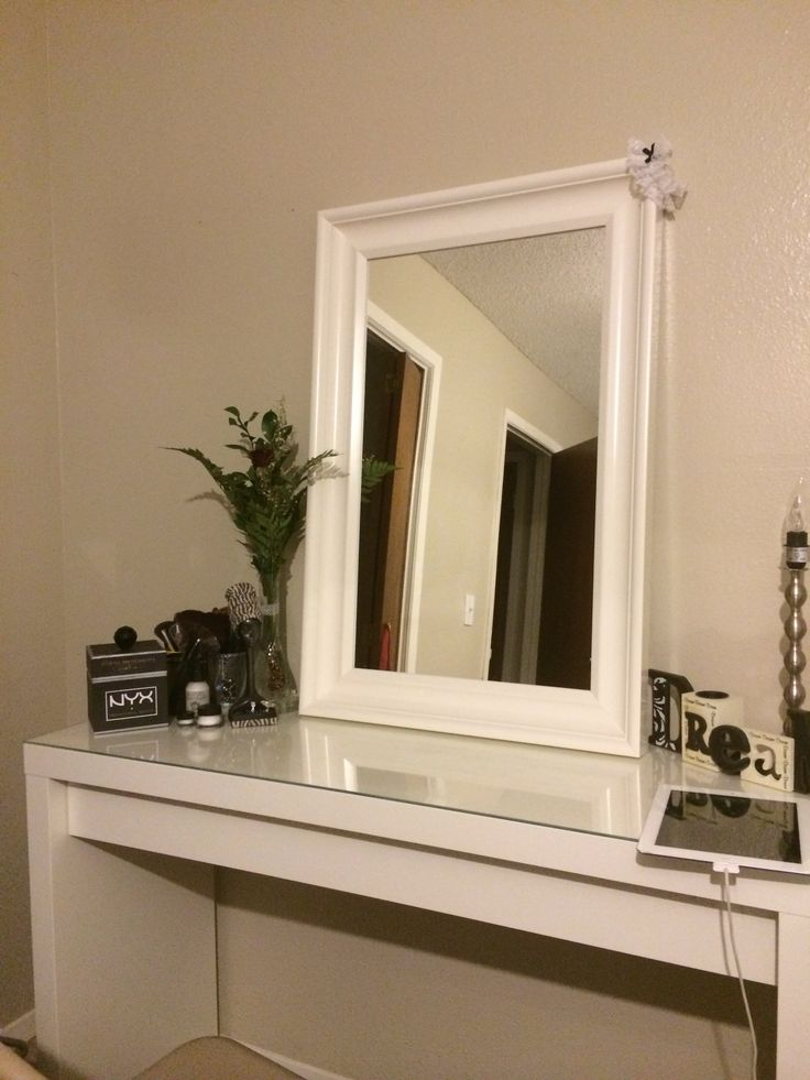 Finally purchased the malm dressing table from ikea after - Hemnes dressing table with mirror white ...