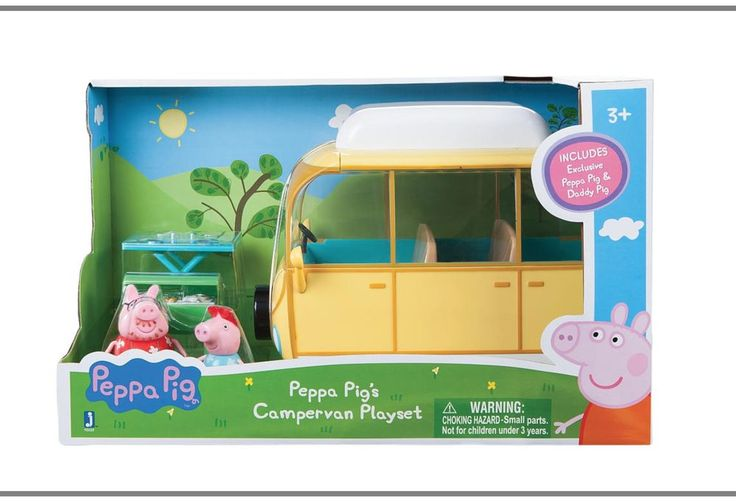 New Peppa Pig Family Camper Van Playset