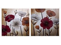 Image result for cuadros de flores gigantes
