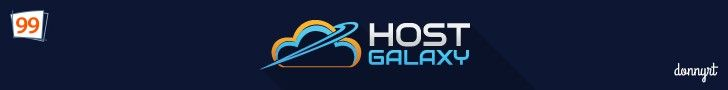 HostGalaxy (Web Host) $$$ for Top Flash Banner Ad by donnyrt