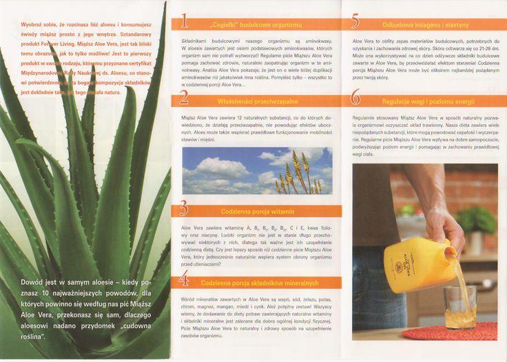 Oto kilka powodów dlaczego należy codziennie pić Aloe vera. Więcej tutaj: http://aloesurodazdrowie.com/10-powodow-by-pic-aloes/