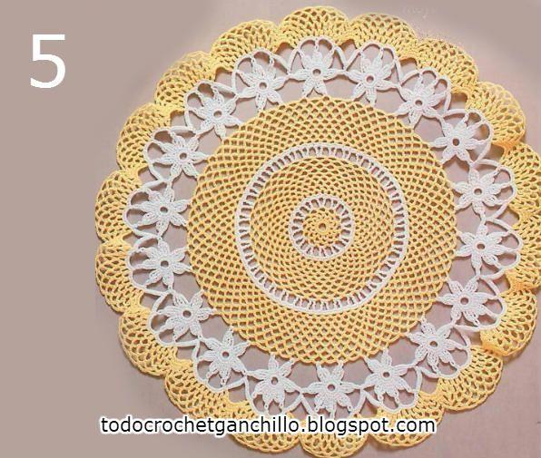 5 patrones de carpetas tejidas al crochet para descargar gratis