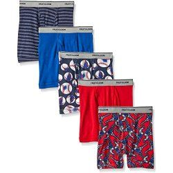 Fruit of the Loom Boys' Boxer Brief - Pack of 5 - Just $5.75! - http://www.pinchingyourpennies.com/fruit-loom-boys-boxer-brief-pack-5-just-5-75/ #Amazon, #Fruitoftheloom