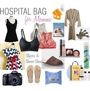 Mala de Maternidade para a Mamãe - dicas no www.nestingmoms.com