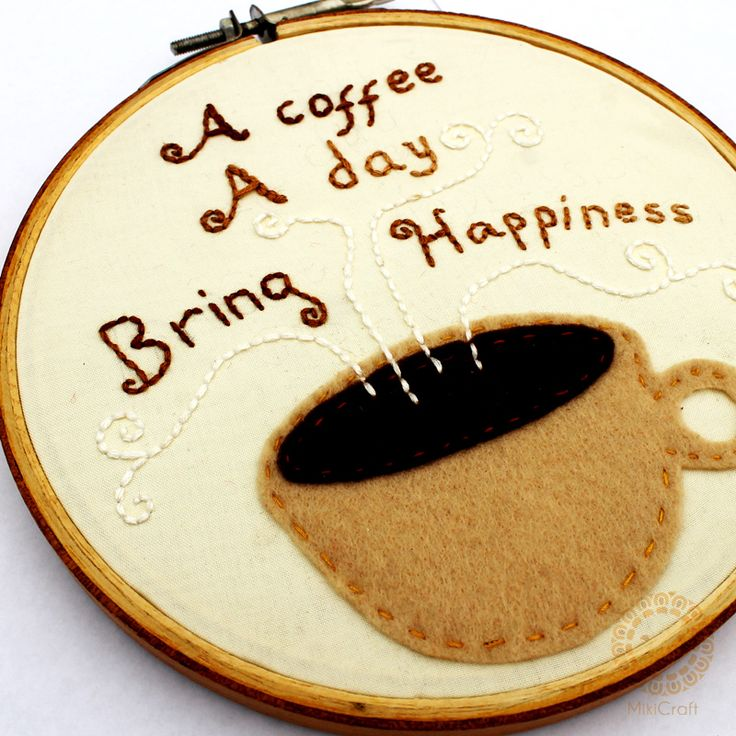 A Coffee a day bring happiness  Store : https://www.instagram.com/mikicraft/
