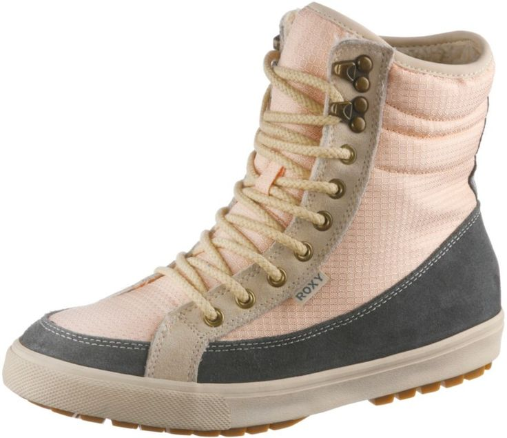 #Roxy #ANCHORAGE #II #Schnürstiefel #Damen #Grau