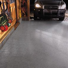 How to Epoxy-Coat a Garage Floor  Epoxy not only tops off the pro look of a garage but also resists oil stains, beads water, and wipes clean like a kitchen counter. Do the job in 3 days
