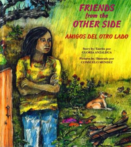 This (children/teens) story by Gloria Anzaldua deals with the sensitive  issue of undocumented immigration and allows children to view it from the perspective of someone who is going through it, like the main character.