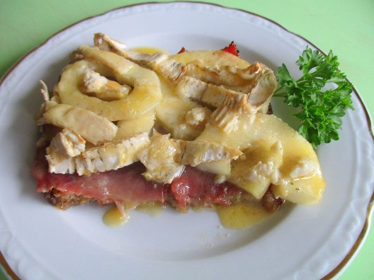 """Französischer """"Toast Hawaii"""" mit Birnen und Brie   Chefkoch.de"""