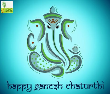 May lord #Ganpati bless all with the treasure of health, wealth and happiness! #HappyGaneshChaturthi