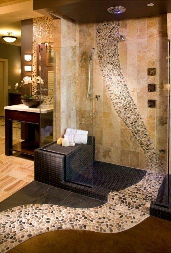 Creative Bathroom Tile Idea Bathroom Ideas Bathroom Lighting