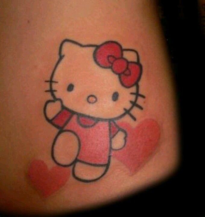 22 Best Hello Kitty Tattoo Images On Pinterest