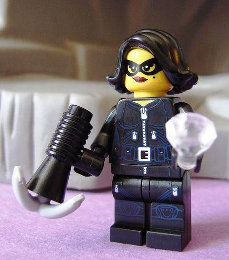 POISON IVY CUSTOM LEGO Batman the Animated Series