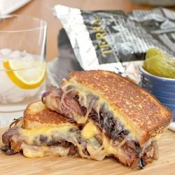 Grilled Cheese w/ Roast Beef
