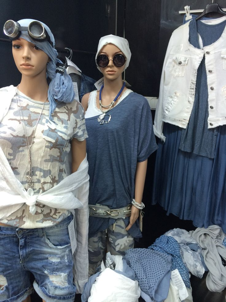 blue jeans military style