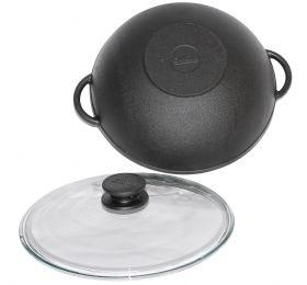 WOK сковорода чугунная | Биол