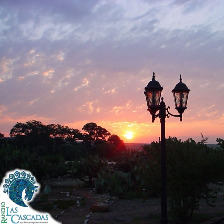 Enjoy the unbelievable sunsets at Rancho Las Cascadas http://rancholascascadas.com/