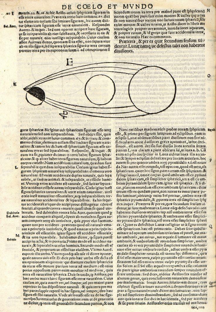 "A.2 SXVI Lámina del libro ""ARISTOTELIS STAGIRITAE DE COELO & MUNDO LIBRI QUATUOR E GRAECO IN LATINUM"" http://absysnetweb.bbtk.ull.es/cgi-bin/abnetopac01?TITN=240678"
