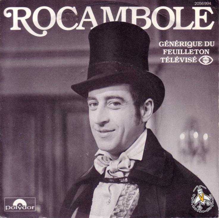 rocambole feuilleton tv | Disque Séries TV et Dessins Animés Rocambole Générique du ...