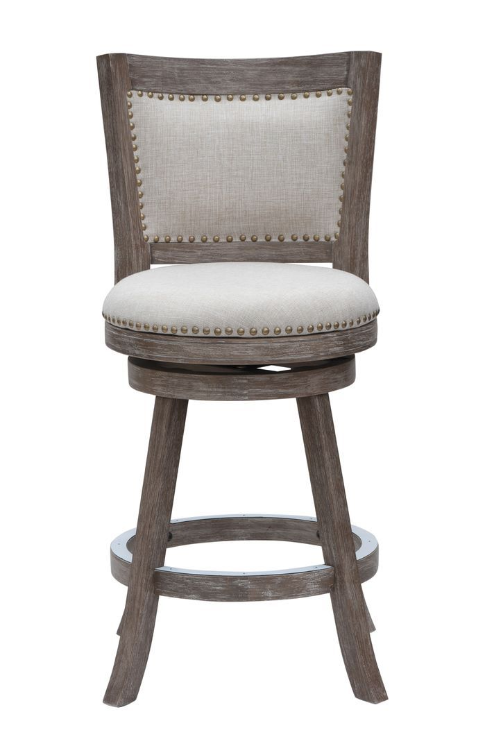 "Hettinger 24"" Swivel Bar Stool with Cushion"