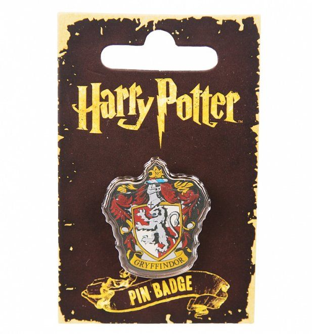 Enamel Harry Potter Gryffindor Badge