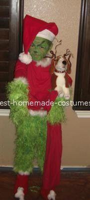 coolest grinch costume - Baby Grinch Halloween Costume