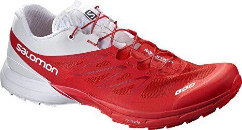 Salomon Unisex-Erwachsene S-Lab Sense 5 Ultra Traillaufschuhe, Rot (Racing Red/White), 48 EU - http://on-line-kaufen.de/salomon/48-salomon-unisex-erwachsene-s-lab-sense-5-ultra